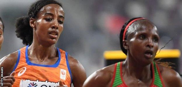 Sifan Hassan and Hellen Obiri