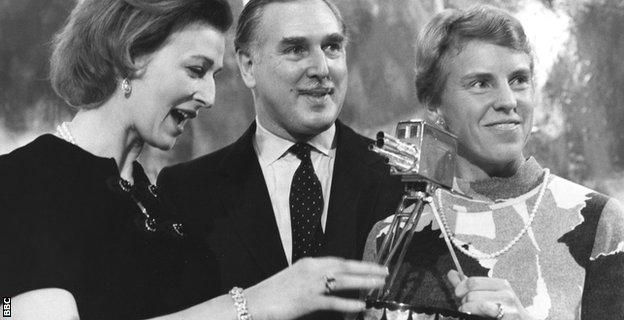 Princess Alexandra, Peter Dimmock and Ann Jones