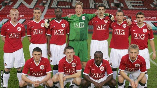 Manchester United Under-18s in 2007