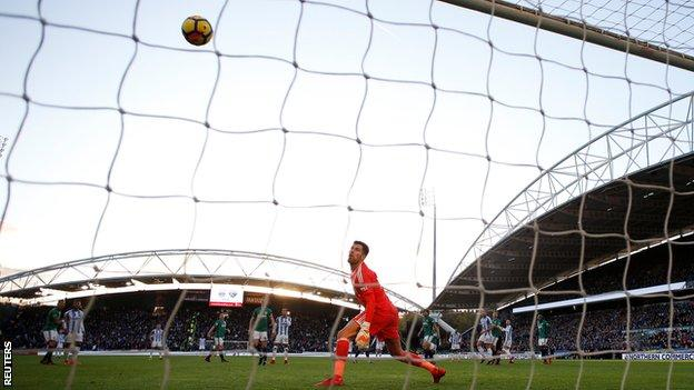 Huddersfield score against West Brom