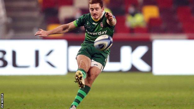 London Irish fly-half Paddy Jackson