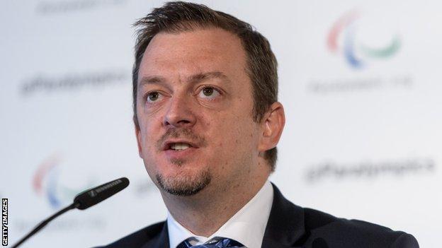 IPC president Andrew Parsons