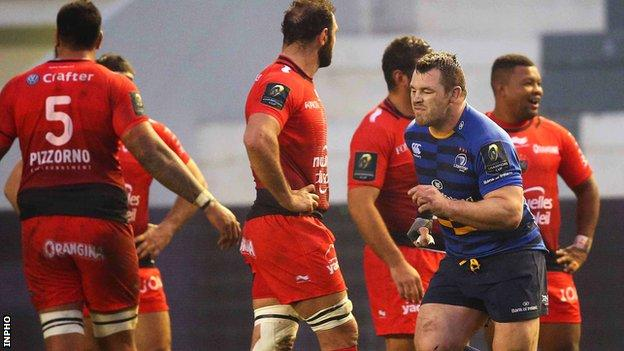 Cian Healy of Leinster