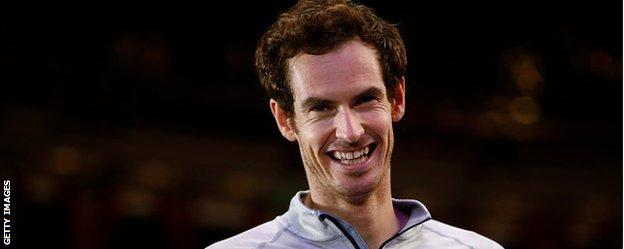 Andy Murray is due to become a father for the first time in February