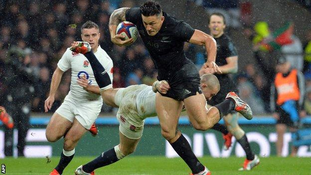 England lose to New Zealand