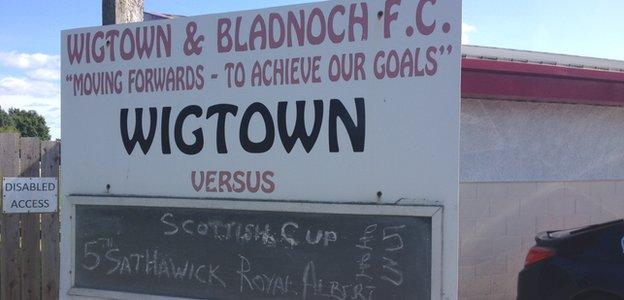 Wigtown & Bladnoch are reigning South of Scotland League champions