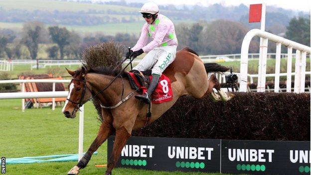 Paul Townend rode Faugheen to victory at Punchestown