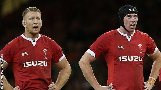 Bradley Davies and Adam Beard
