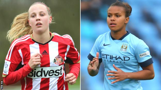Beth Mead and Nikita Parris