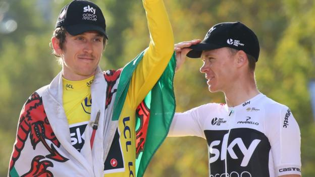 Geraint Thomas and Chris Froome to ride Tour of Britain thumbnail