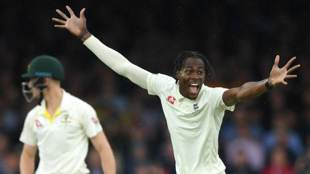 England charge cut short by rain at Lord's