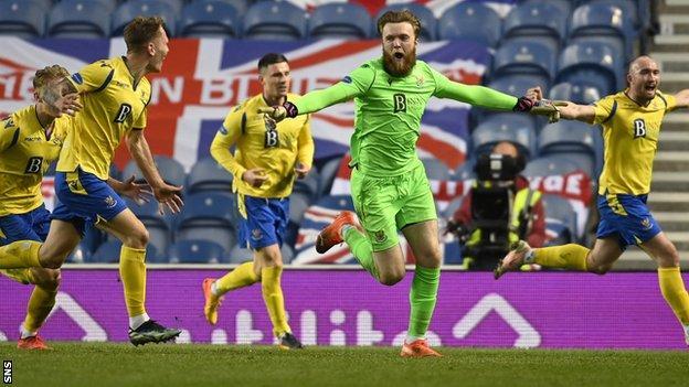 Rangers 1-1 St Johnstone (St Johnstone win 4-2 on penalties) thumbnail