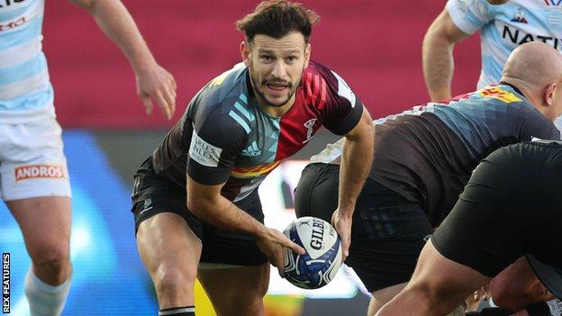 Danny Care in action for Harlequins