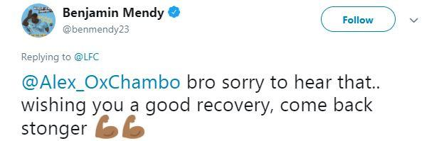 Manchester City full-back Benjamin Mendy