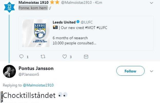 Pontus Jansson on Twitter