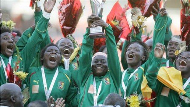 Cameroon women's won 2011 All Africa Games gold