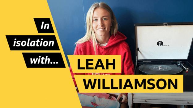 Leah Williamson: Arsenal & England defender's five albums for lockdown thumbnail