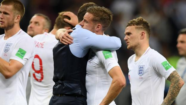102489534 englo - England beaten by Croatia at World Cup:'It is the what-ifs that hurt essentially the most'