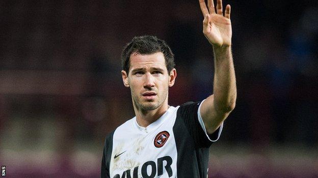 Dundee United defender Ryan McGowan