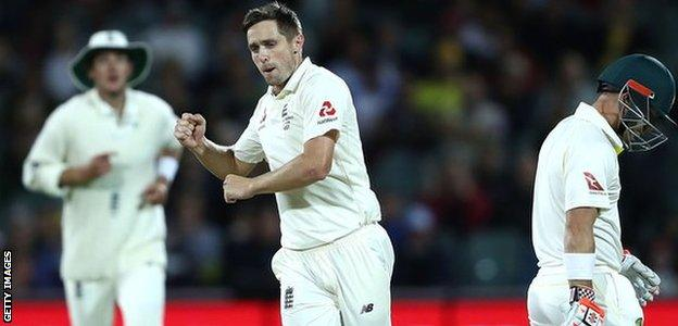 Ashes: Chris Woakes says England have shown character to fight back in Adelaide