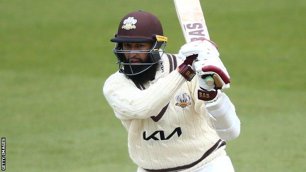Hashim Amla in action for Surrey