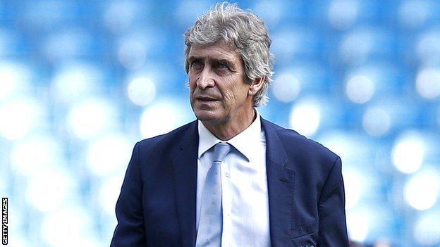 Manuel Pellegrini of Manchester City