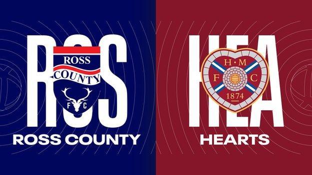 ross county v Hearts