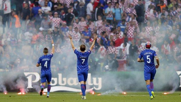 Croatia players