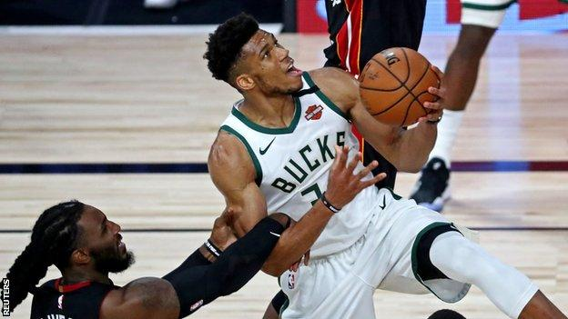 Milwaukee Bucks star Giannis Antetokounmpo