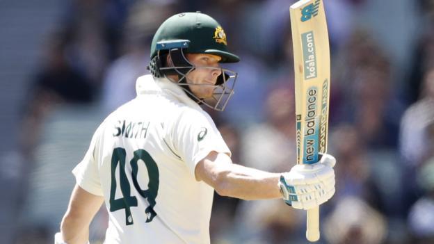 Australia v New Zealand: Steve Smith half century puts Australia in control thumbnail