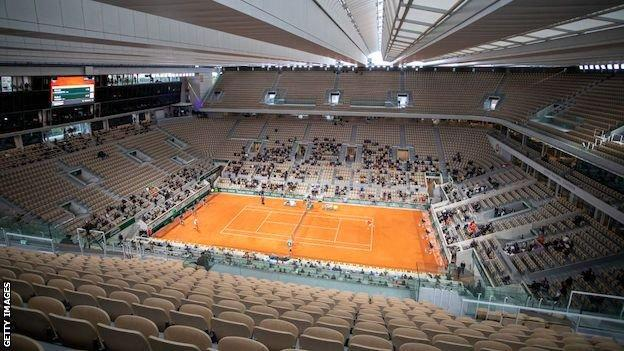 The 2020 French Open final between Rafael Nadal and Novak Djokovic