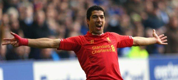 Luis Suarez took just 15 games to reach 20 goals during the 2013-14 season - equalling Andy Cole's record from 1993-94