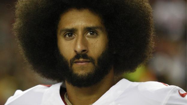 Colin Kaepernick: Former NFL quarterback settles 'collusion' case thumbnail
