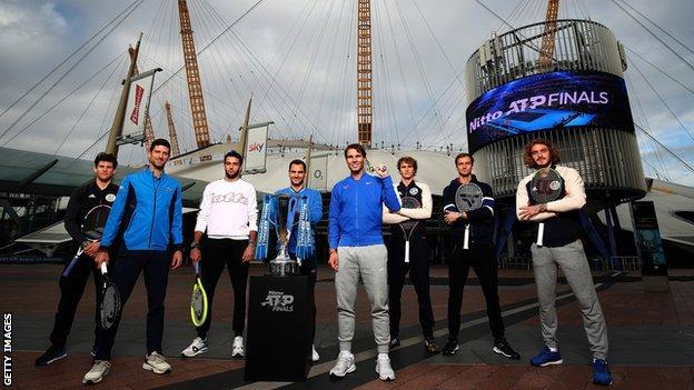 ATP Finals players