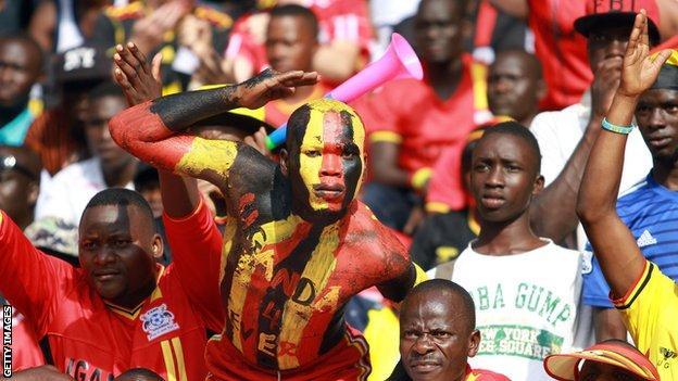 Uganda supporters