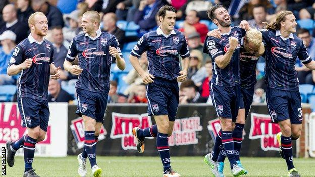 Ross County knocked in four goals at Kilmarnock last weekend