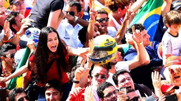 Brazilian Formula 1 fans