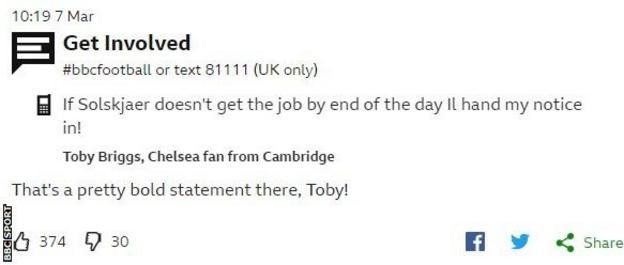 Toby Briggs message