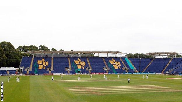 Glamorgan's Sophia Gardens ground was previously named as Swalec Stadium