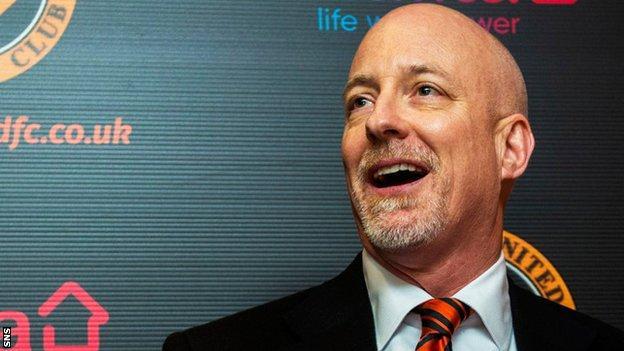 Dundee United chairman Mark Ogren