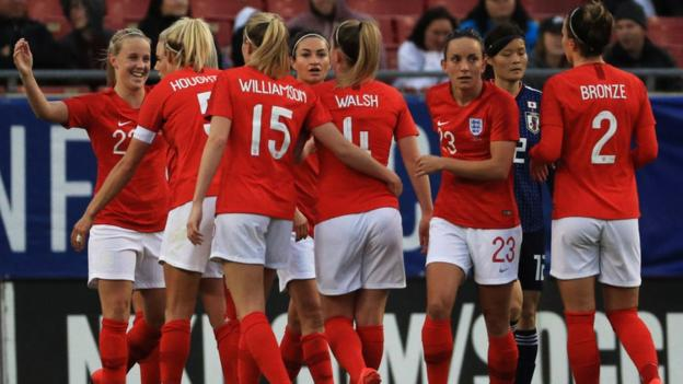 Japan Women 0-3 England Women: Lionesses win SheBelieves Cup for first time thumbnail