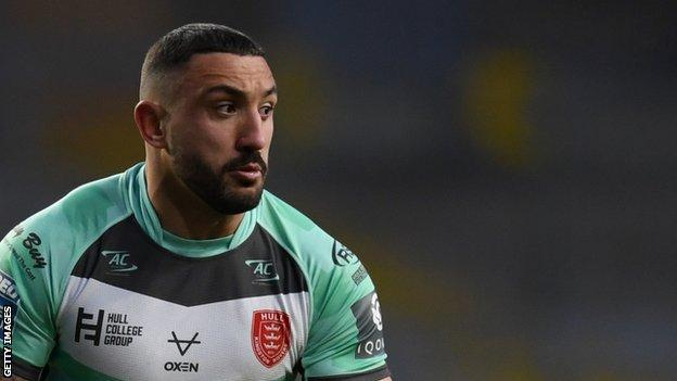 Elliot Minchella has come off the bench in both of Hull KR's Super League fixtures this season