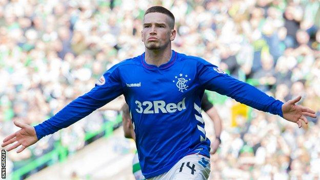 Ryan Kent spent last season on loan at Rangers from Liverpool