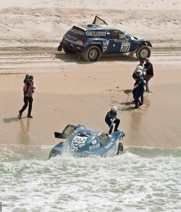 paris dakar 1998