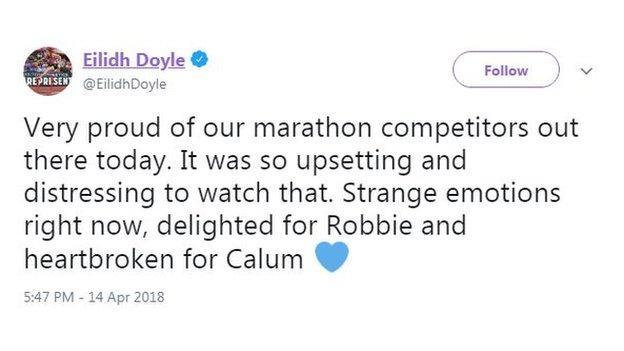 Eilidh Doyle tweet