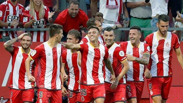 Girona beat Atletico Madrid on La Liga debut