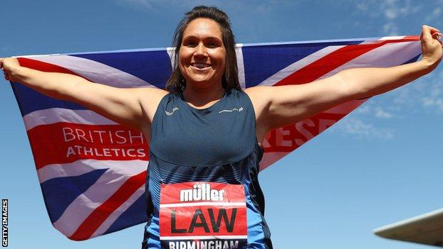 Kirsty Law is the defending British champion
