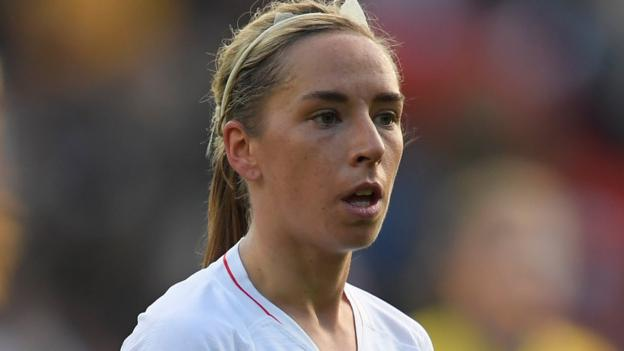 England's Jordan Nobbs calls for research into ACL injuries and menstrual cycle thumbnail