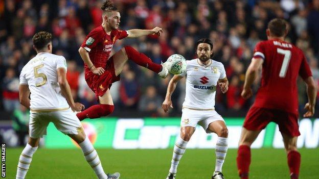 Liverpool's Harvey Elliott