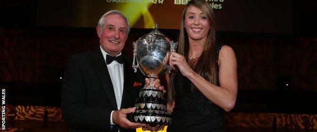 Jade Jones and Gareth Edwards